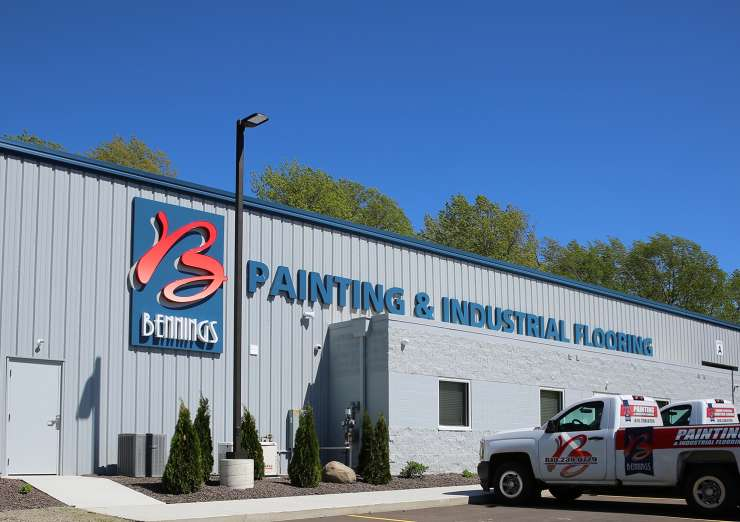 STRENGTH FROM EXPERIENCE Bennings Painting & Industrial Flooring